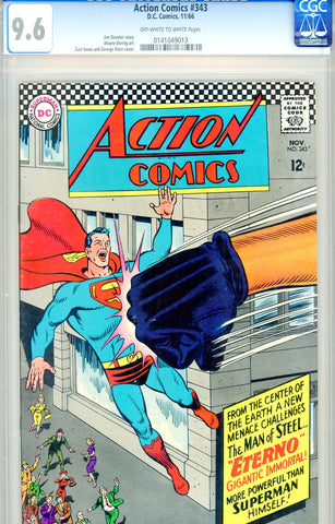 Action Comics #343   CGC graded 9.6 - SOLD!