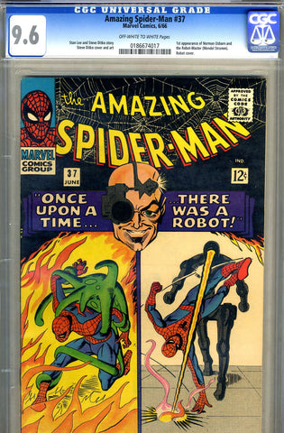 Amazing Spider-Man #037   CGC graded 9.6 - SOLD!