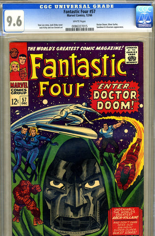 Fantastic Four #57   CGC graded 9.6 - SOLD