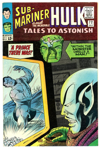 Tales to Astonish #72   VERY FINE+   1965