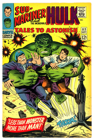 Tales to Astonish #83   VF/NEAR MINT   1966