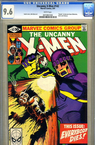 Uncanny X-Men #142   CGC graded 9.6 - SOLD