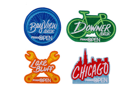Fixed Gear Street Crit Patches