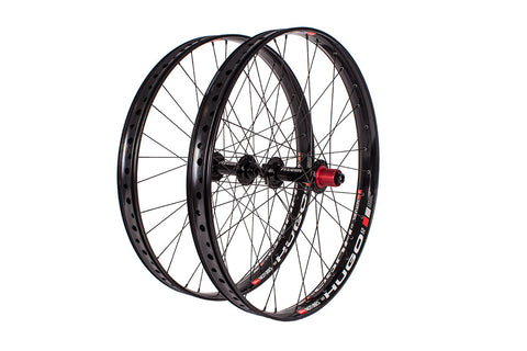 "Fyxation Blackhawk Hubs x Hugo 29""+ Fat Bike Wheelset"