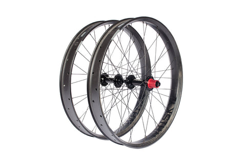 Fyxation Blackhawk Team Wheelset with Whisky Carbon Rims