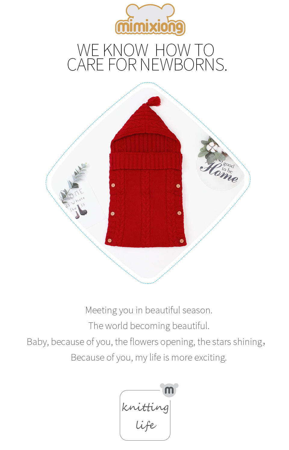 newborn winter sleeping bag