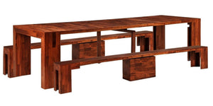 Transformer Ultimate Dining Set + Chestnut