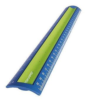 Fiskars Softgrip Ruler, Color May Vary, 12-Inch (12-8710)