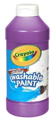 Crayola Washable Paint 16Oz Violet/Purple