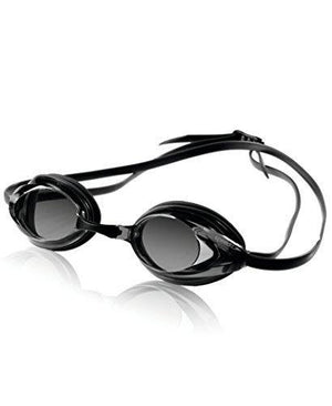 Speedo Vanquisher Optical Swim Goggle, Clear/Clear, Diopter -3.5
