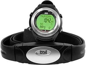 Pyle Sports Phrm20 Marathon Heart Rate Watch With Usb And 3D Walking/Running Sensor