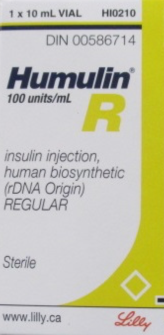 Humulin - R VIAL (10ML)