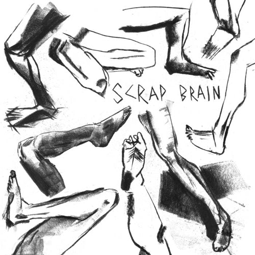 "SCRAP BRAIN ""Unhappy Hardcore"" 7"""