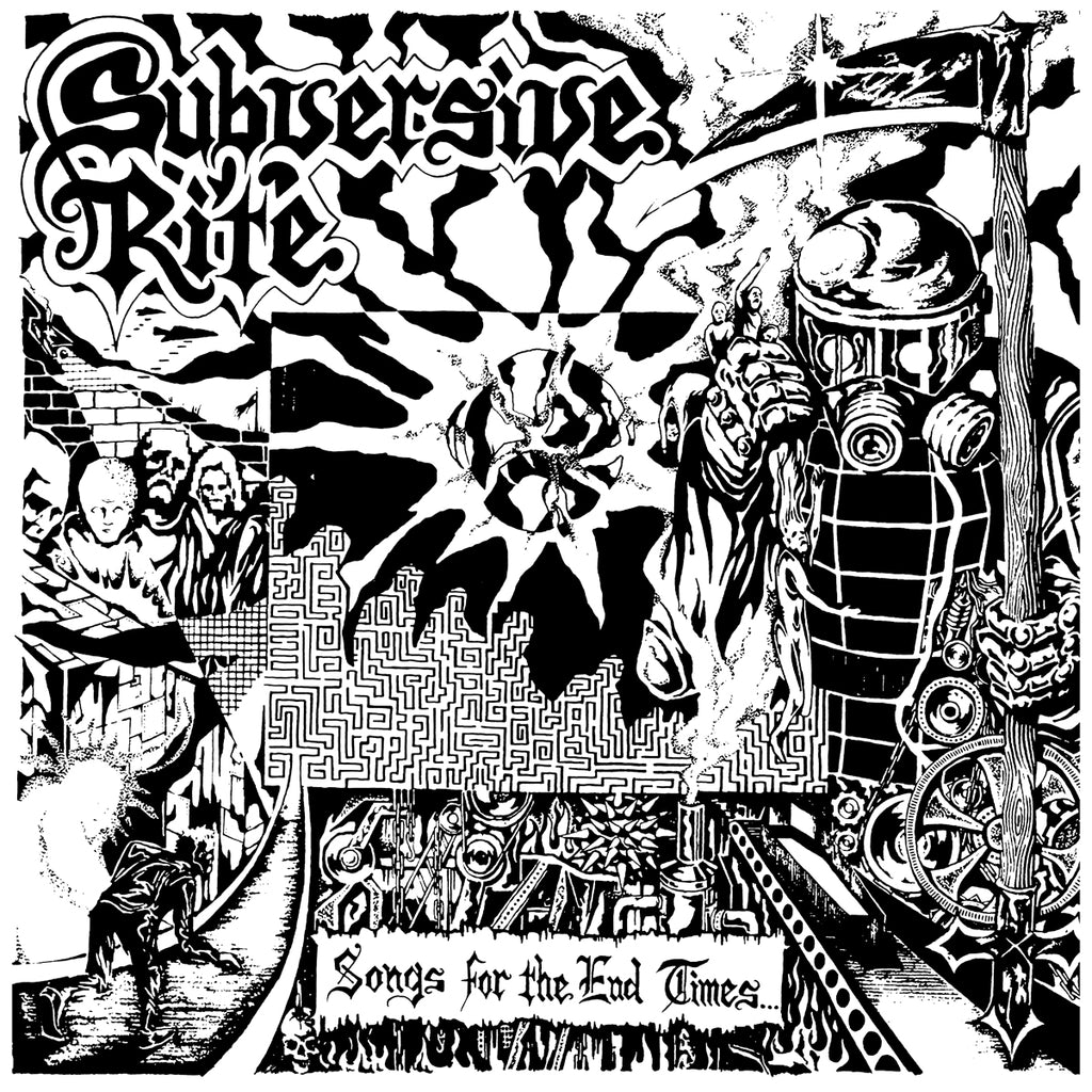 "SUBVERSIVE RITE ""Songs for the End Times"" LP"