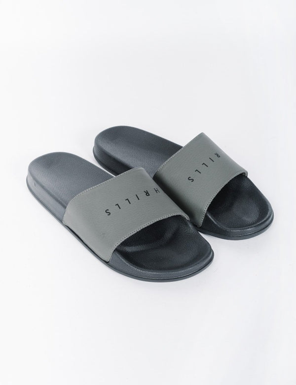 Thrills Slides - Unisex - Army Green