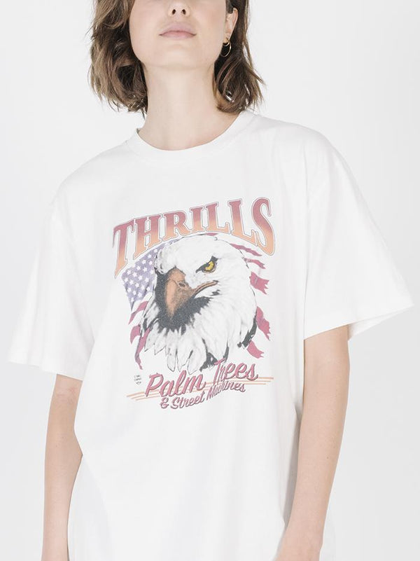 United Eagle Merch Tee - Dirty White