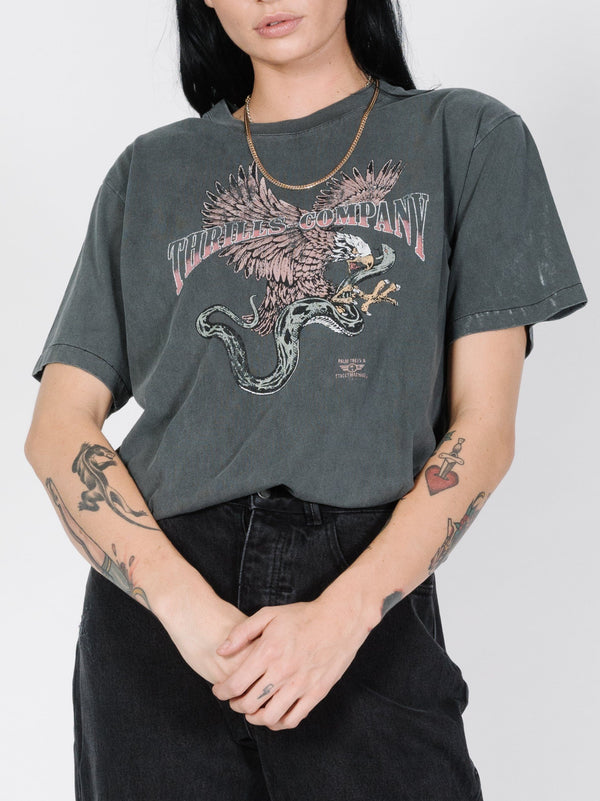 Eagle Vs Snake Merch Tee - Merch Black