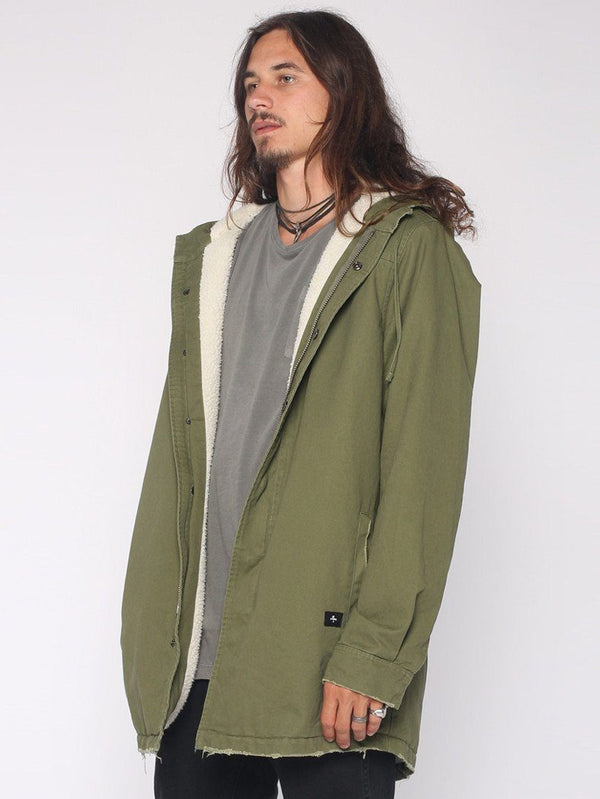 Sherpa Army Trench - Army Green - THRILLS CO - 2