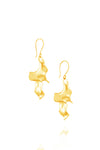 Sirena Twist Earrings in 18K Gold plating
