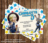 Zootopia Movie Birthday Party Invitations