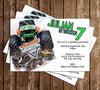 Monster Jam - Monster Truck - Birthday Party Invitation