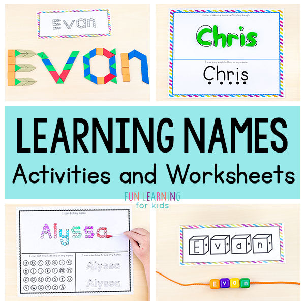 Name Writing Practice Activities