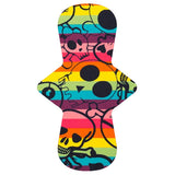 Custom Order - Rainbow Skulls - Lady Days Cloth Pads