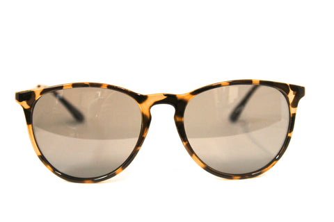 Hipster Sunglasses in Yellow Tortoise