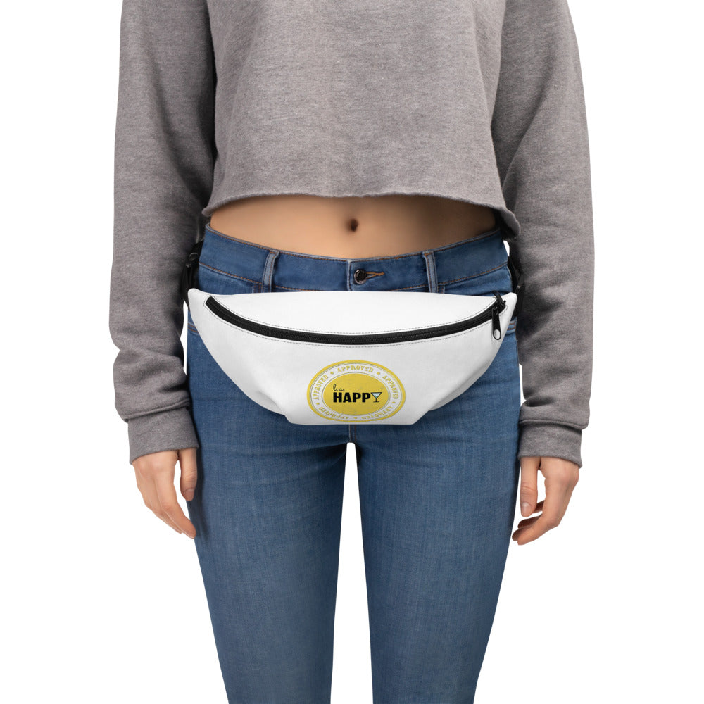 L.A. Happy Fanny Pack in White