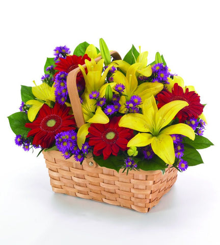 Country Sunshine Basket