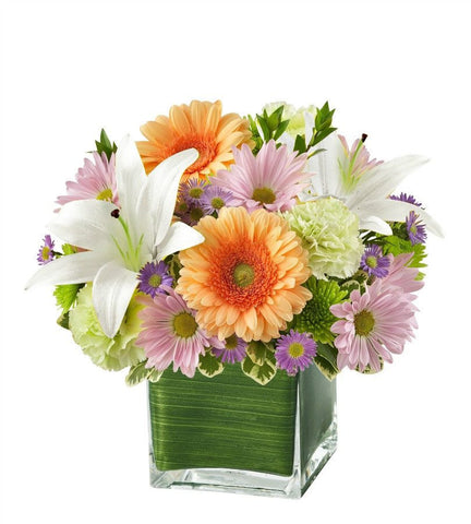 Compassionate Multicolored Arrangement