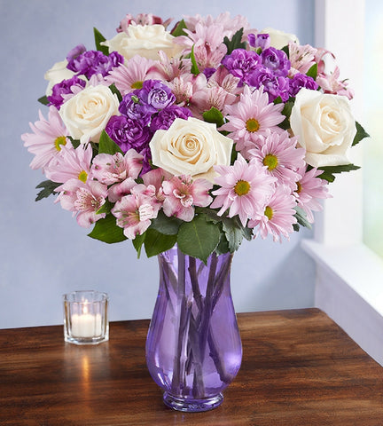 Purple Sympathy Bouquet