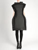 Comme des Garçons Black Puffed Tube Frame Dress - Amarcord Vintage Fashion  - 2