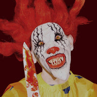 Evil Clown costume FX mask