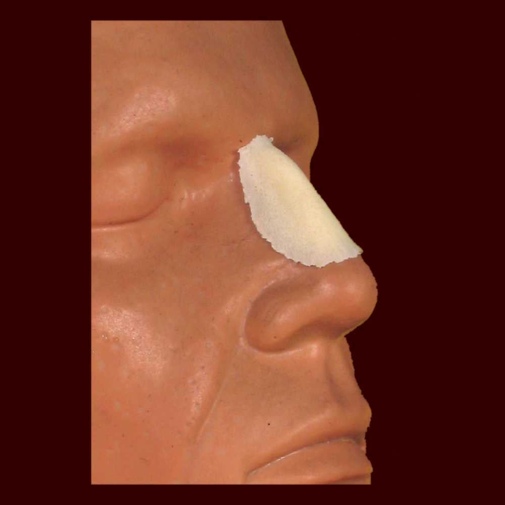 Small aquiline nose foam latex prosthetic