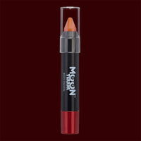 Orange body makeup crayon