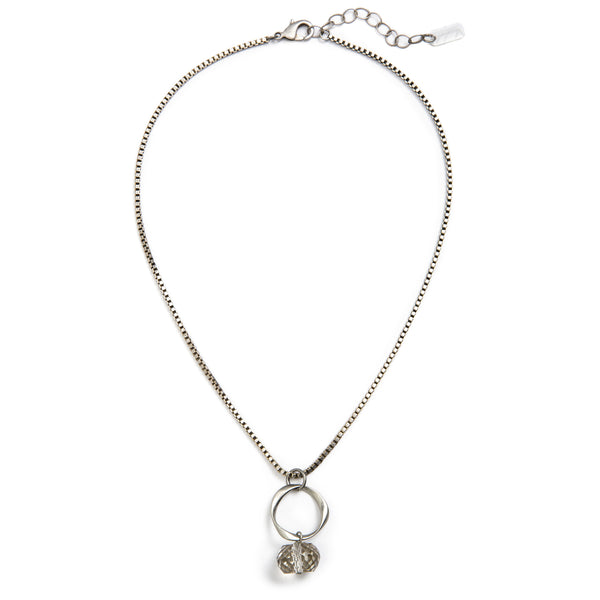 Moonlight Necklace - Silver