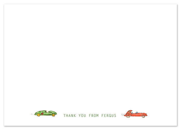 Vintage Cars - Personalised Personalised Stationery