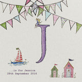 Jolly Bunting - Personalised Print