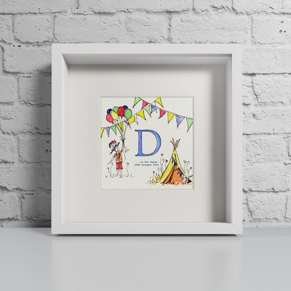 Teepee - Personalised Print