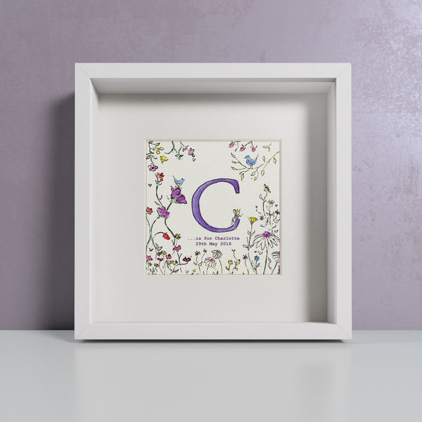 Flowers - Personalised Print