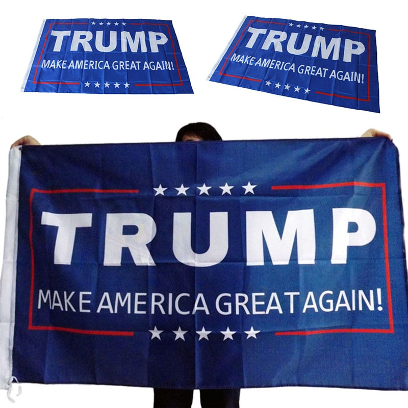 Free Donald Trump MAGA Flag