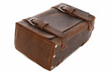 No. 215 Large Travel Case in Crazy Horse Brown