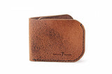 No. 817 Bi-Fold Wallet in Glazed Tan