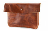 No. 218 - Large Pouch in Burnt Sienna