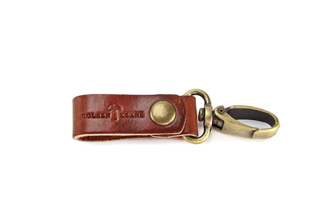 No. 614 - Key Fob in Havana Brown