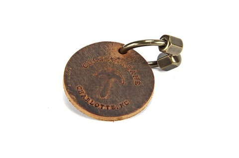No. 1018 - Horseshoe Key Ring in Crazy Horse