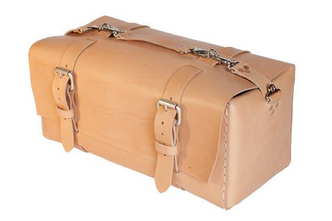 No. 613 - Large Duffle in Natural Tan