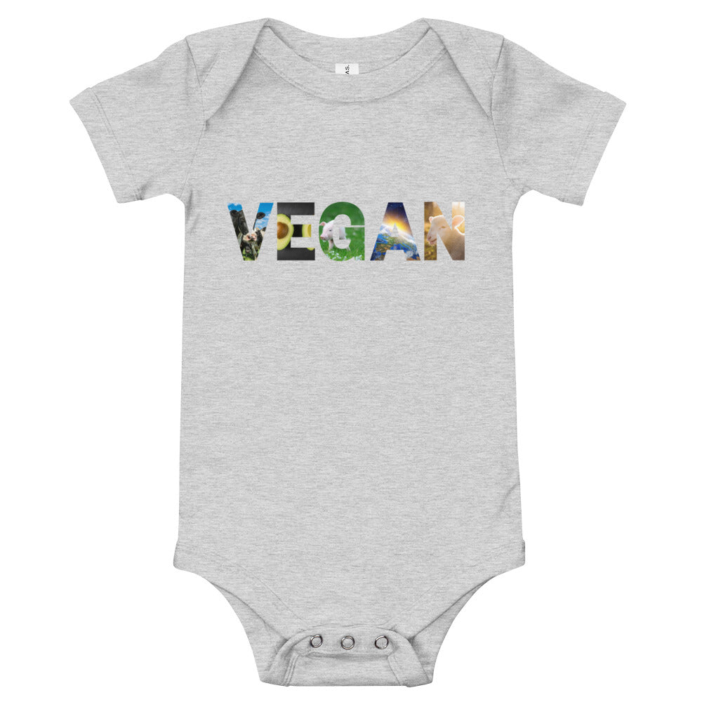 Vegan Baby Bodysuit T-Shirt