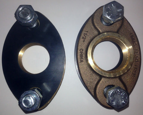 Ford Meter Box 1 1/2 Inch Bronze Meter Flange